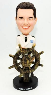 Custom Custom ship captain bobbleheads